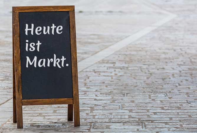 Markt im Saarland